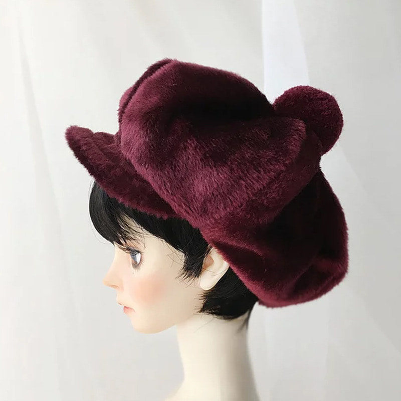 Newsboy cap (Wine)