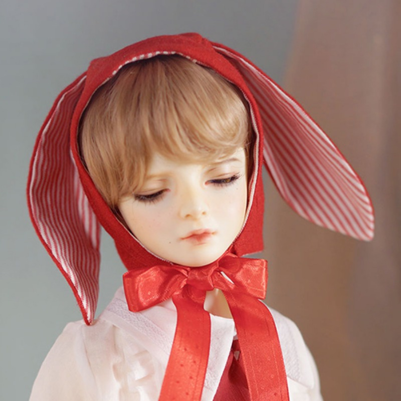 Bunny bonnet (Red)